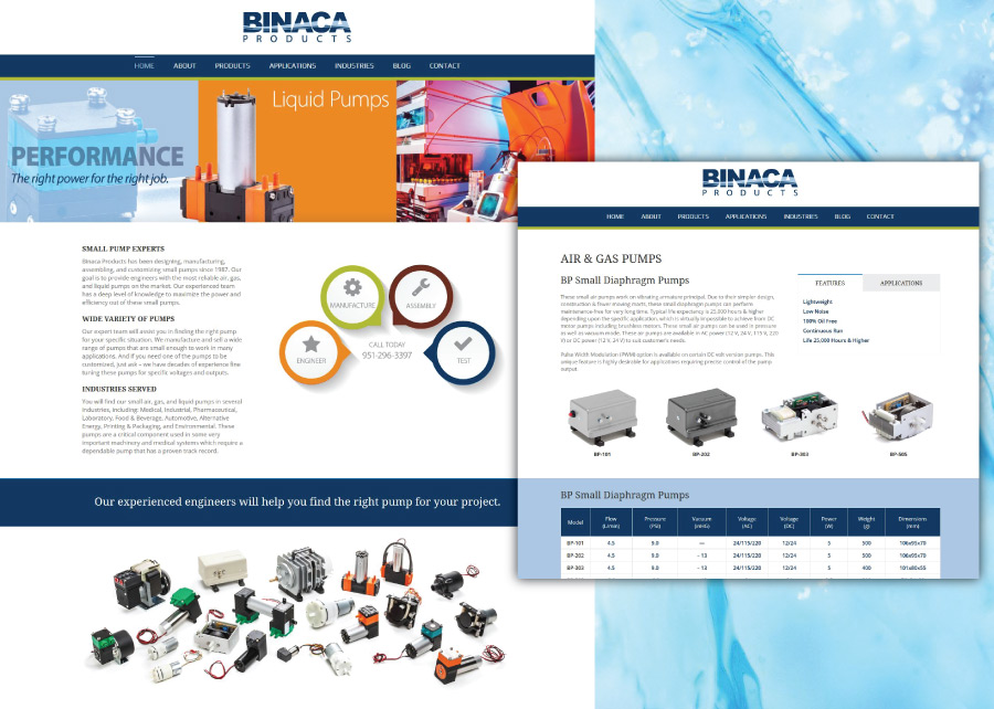 Binaca-Pumps-Website