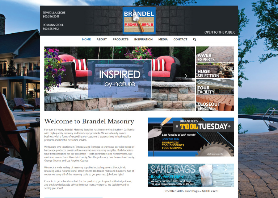 Brandel-Masonry-Website