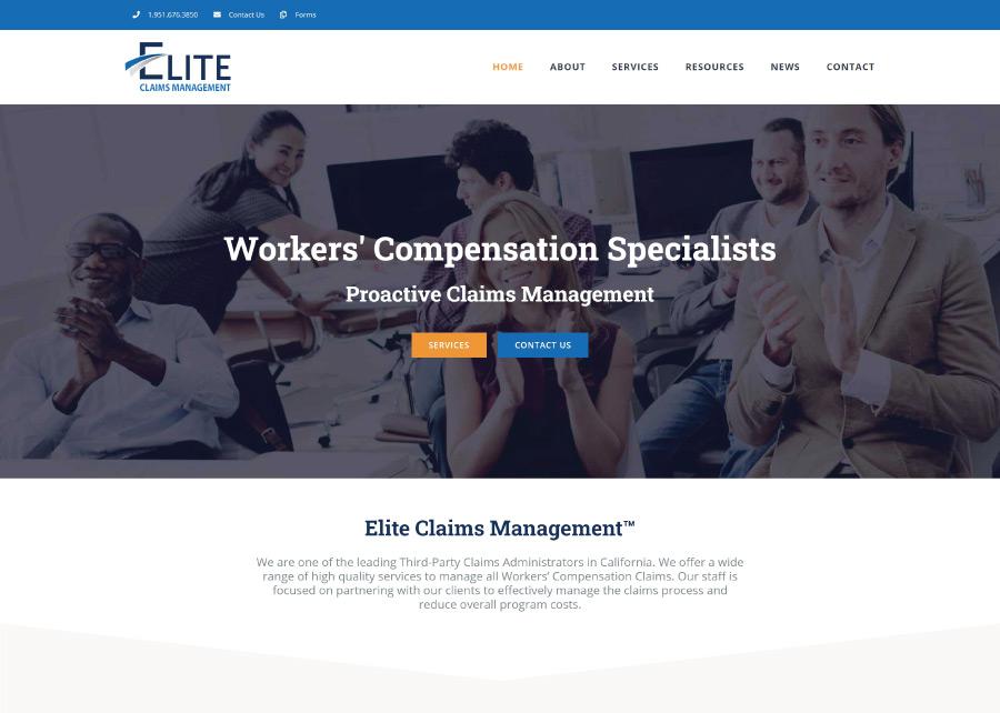 Elite-Claims-Website