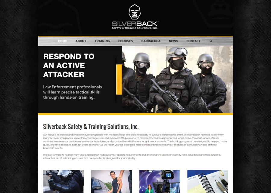 Silverback-Safety-&-Training-Website