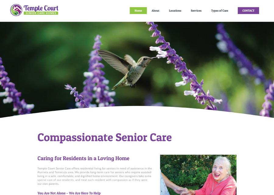 Temple-Court-Senior-Care-Website