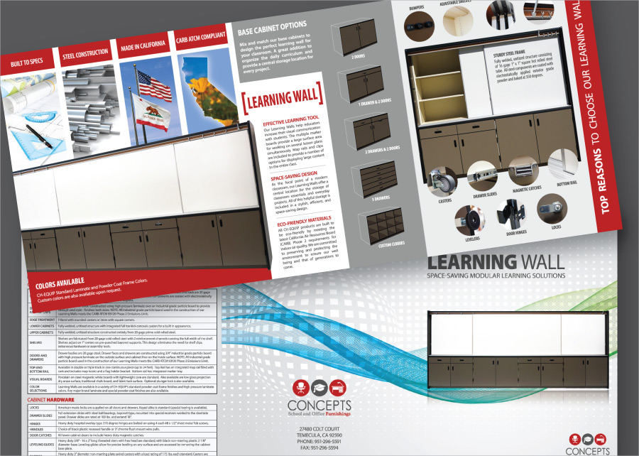 Concepts-Learning-Wall-Brochure