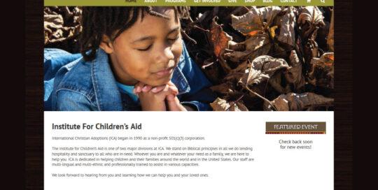 Institute-For-Childrens-Aid-Website
