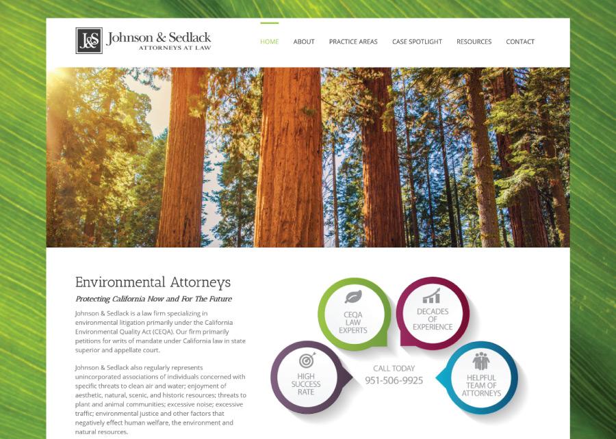 Johnson-Sedlack-Website