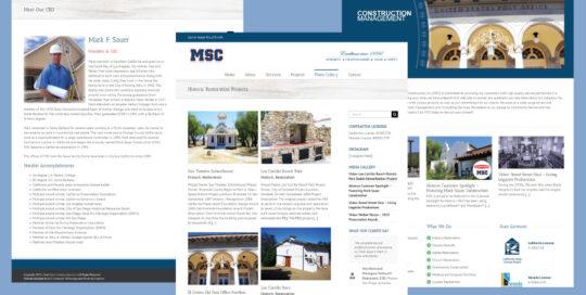 Mark-Sauer-Construction-Website